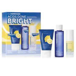 Acids Done Bright Smoothing Skincare Set