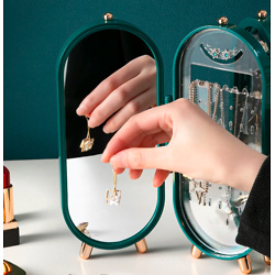 Jewelry Storage Box Earring Display Stand