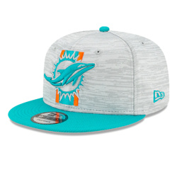 MIAMI DOLPHINS OFFICIAL NFL TRAINING 9FIFTY SNAPBACK