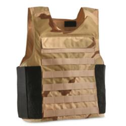 U.S. Military Surplus Iraq Police Plate Carrier Vest, New