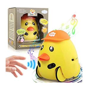 LAKIBOLE Baby Toddler Companion Sound Toy Car Pet