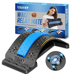 TEIBAKY Lower Back Stretcher for Pain Relief