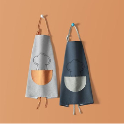Household Kitchen Waterproof And Oil-Proof Apron