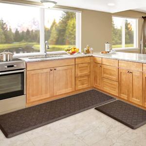 KMAT Kitchen Mat [2 PCS] Cushion Anti Fatigue Comfort Mat