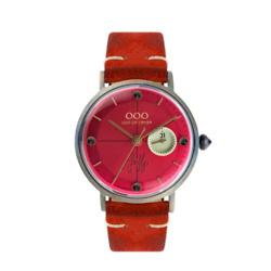 珊瑚红手表
