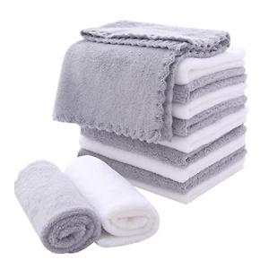 MoonQueen 超软珊瑚绒纤维快干洗脸小毛巾