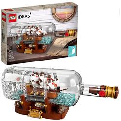 Lego Ideas系列 瓶中船