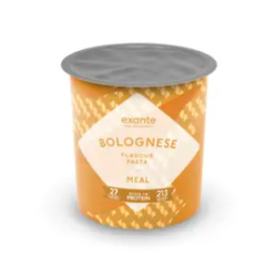 Meal Replacement Pasta Bolognese Pot Meal