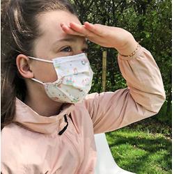 Dr. Talbot's 一次性3层防护儿童口罩