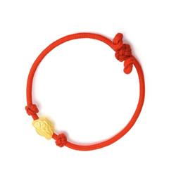 'New Born' 999 Gold Baby Bracelet