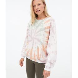 Tie-Dye Oversized Crew Sweatshirt
