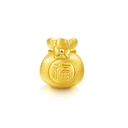 'Blessings & Culture' 999 Gold Fortune Bag Charm