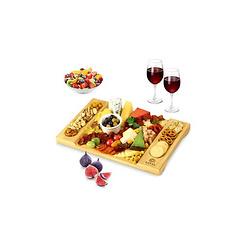 Bamboo Charcuterie Board & Cheese Platter