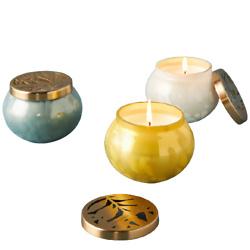 Aurelie Mini Glass Jar Candle