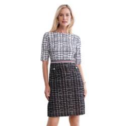 Scoop-Neck Fit & Flare Dress