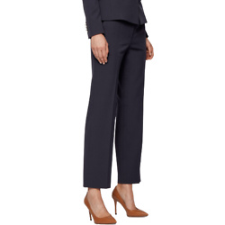 Relaxed-fit cropped pants in Portuguese stretch twill