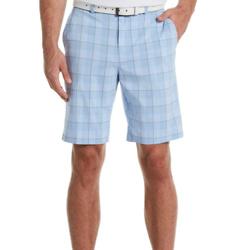 男士染色叠层印花高尔夫短裤