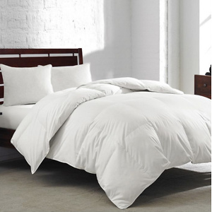 Royal Luxe White Goose Feather & Down Comforter
