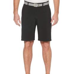 男式平底短裤带口袋
