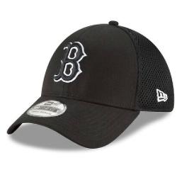 New Era Boston Red Sox Black Neo 39THIRTY Flex Hat