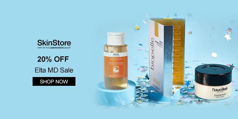 SkinStore: 20% OFF Elta MD Sale