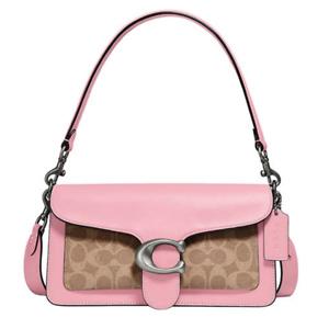 COACH Pebble Leather Shoulder Bag