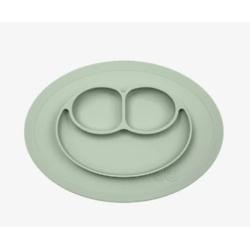 绿色迷你餐垫 + 盘子