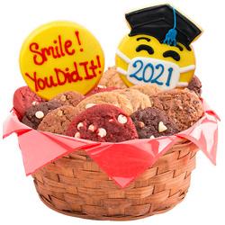 ConGRADulations Emojis Cookie Basket