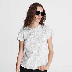 印花棉质 T 恤
