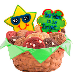The Future is Bright Cookie Basket