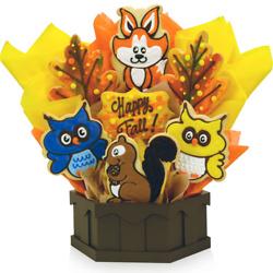 Happy Fall Cookie Bouquet (Medium)
