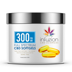 10MG CBD SOFTGELS with 30 COUNT