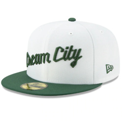 2019 MILWAUKEE BUCKS NBA AUTHENTICS CITY SERIES HOLIDAY PACK 59FIFTY FITTED