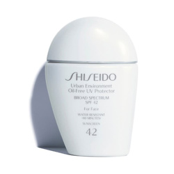Shiseido 面部防晒乳液
