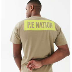 Extension Tee in Sage