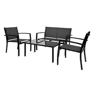 Greesum 4 Pieces Patio Furniture Set