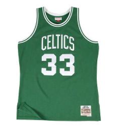 Mitchell & Ness Men's Swingman Boston Celtics Larry Bird Road 1985-1986 Jersey