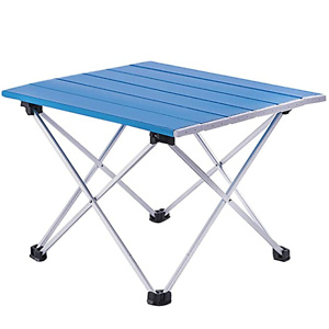 Foldable Portable Aluminum Table with Carry Bag