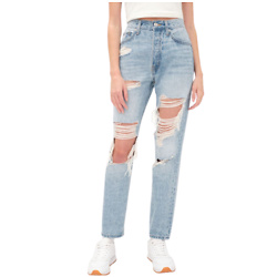'90s Super High-Rise Straight Hemp Jean