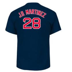 Majestic Men's Boston Red Sox JD Martinez Name & Number T-Shirt