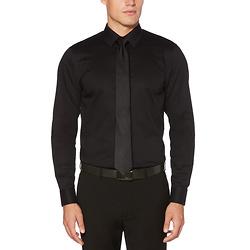 修身正装衬衫-黑