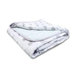 essentials cotton muslin blanket