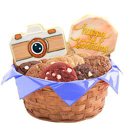 Picture Perfect Birthday Cookie Basket