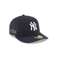 NEW YORK YANKEES POSTSEASON SIDE PATCH LOW PROFILE 59FIFTY FITTED
