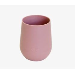 迷你粉色硅胶水杯