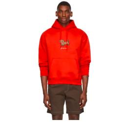 JACQUEMUS Red La Montagne 'Le Sweatshirt Pistoun' Hoodie