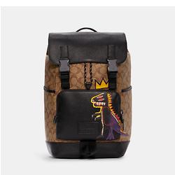 COACH Coach X Jean Michel Basquiat Track Backpack In Signature Canvas