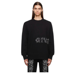 GIVENCHY Black Barbed Wire Sweatshirt
