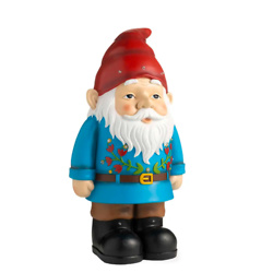Indoor/Outdoor Lighted Shorty Elvin The Gnome Statue
