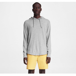 Flame Carded Cotton Hoodie